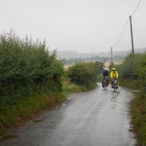 Rainy ride to Dover
