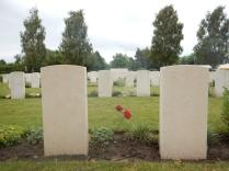 WWI cemeteries nr Ypres