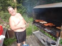 Moosbach village barbecue