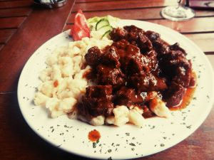 Last goulash in Hungary