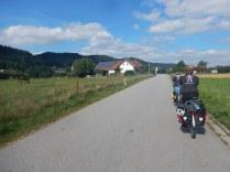 Leaving Marktl for the Austrian border, 1 Aug
