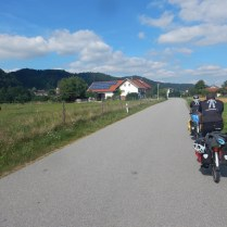 Leaving Marktl for the Austrian border, 1 Aug