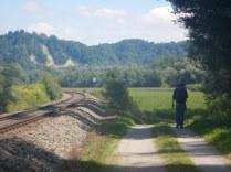 Pilgrim near Marktl, 1 Aug