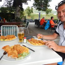 First wiener schnitzel in Austria, 4 Aug