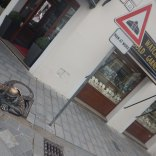 Famous manhole person in Bratislava, 7 Aug