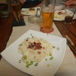 Slovakian national dish for lunch, 7 Aug