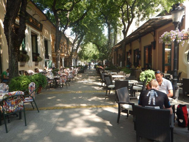 Morning coffee in Subotica, 13 Aug