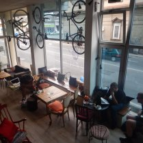 The Bike Kitchen in Novi Sad, Anna's dream creation of 6 years ago, 14 Aug