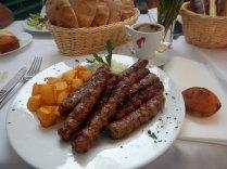 Chevapchici, Serbian national dish, 15 Aug