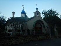 Orthodox church next to St. Mark's, Belgrade, 15 Aug