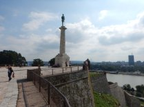 The Statue of Victory, Belgrade, 15 Aug