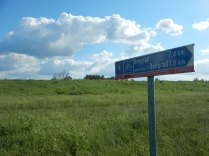 The start of a series of quotes on each Route 6 sign as we leave Belgrade, 17 Aug