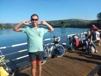 On ferry from Stara Planka to Ram, 18 Aug