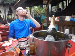 £2 champagne, Kozloduy, 21 Aug