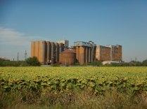 Northern Bulgaria was strewn with deserted Communist-era factories, 21 Aug
