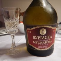 Aleks' dad's rakija, Varna, 26 Aug