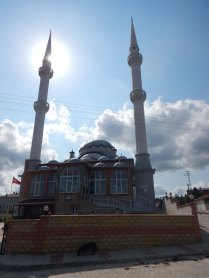 First proper mosque up close, Saray, 31 Aug