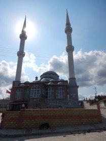 First proper mosque up close, Saray, 31 Aug