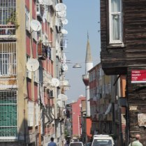 Old style Istanbul wooden house, 3 Sept