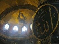 Originally Christian, then converted into a mosque - Haghia Sophia, 3 Sept