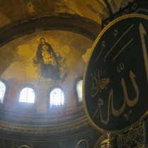 Originally Christian, then converted into a mosque - Haghia Sophia, 3 Sept