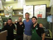 Starbucks celebration upon start of visa process! Istanbul, 5 Sept