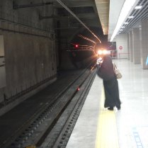 Smartphone on Istanbul Tube, 11 Sept 14