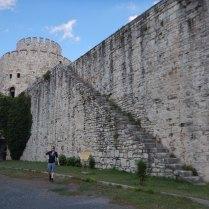 Yedikule fort, Istanbul, 11 Sept 14