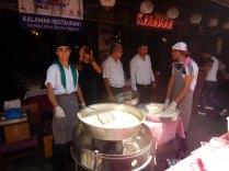 Kumkapi fish festival - free handouts