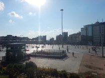 Taksim Square, of the 2013 protests, 13 Sept 14