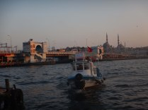 Istanbul harbour supper, 14 Sept 14