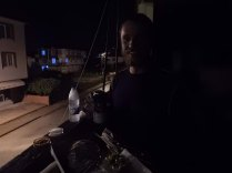 Romantic meal in Karasu building site, 17 Sept 14