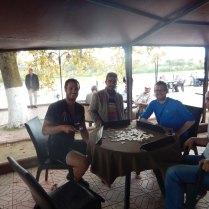 DSCN2658 20140918 Alapli - Mehmet teaching us Okey