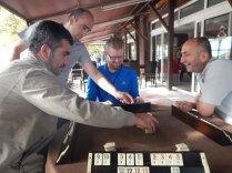 DSCN2660 20140918 Alapli - Mehmet teaching us Okey