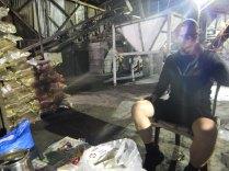 Cay in a coal warehouse near Zonguldak, 19 Sept 14