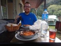 Melemen (tomato and egg) breakfast, 20 Sept 14