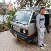 Our host's van