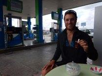 Petrol station cay in Bafra, 25 Sept 14