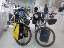 Bikes at the orthodontist in Ondokuzmayis, 26 Sept 14