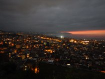 Trabzon sunset, 1 Oct 14