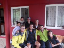 With French tourers we met en route, 4 Oct 14