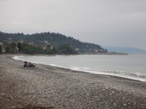 Black Sea camp spot, 5 Oct 14