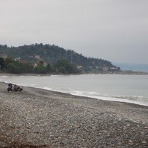 Black Sea camp spot, 5 Oct 14