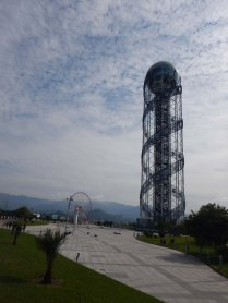 Alphabet tower, Batumi, 6 Oct 14