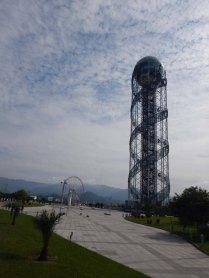 Alphabet tower, Batumi, 6 Oct 14