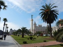 Golden Fleece statue, Batumi, 6 Oct 14