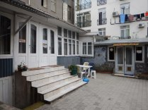 Hostel courtyard, Batumi, 6 Oct 14