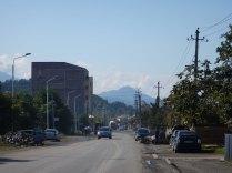 Heading out of Batumi, 7 Oct 14
