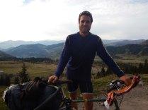 Near the top of Goderdzi Pass at 2000m, 8 Oct 14