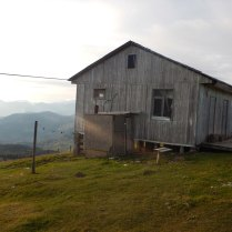 Very windy settlement at the top of Goderdzi Pass, 8 Oct 14